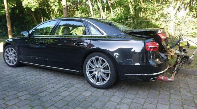 Audi A8 - schmutzigster Euro 6-Diesel