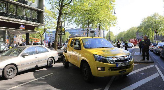 Kölner Polizei kontrolliert Falschparker in großem Stil