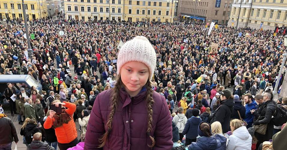 Schulstreik fürs Klima
